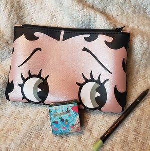 Betty Boop bag + IBY Beauty shadow + Pixie Eye Pen